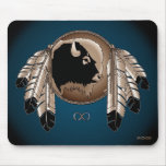 First Nations Wildlife Gifts Native Art Mousepad