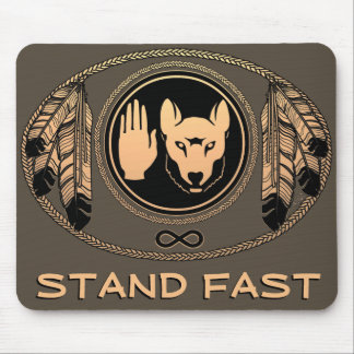 First Nations Wolf Gifts Native Art Mousepad