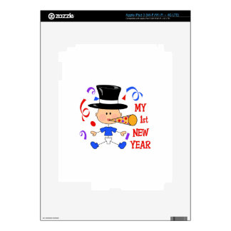 FIRST NEW YEAR DECALS FOR iPad 3