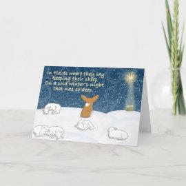 First Noel Corgi Christmas Card card