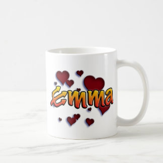 first nombre Emma shirts and products Taza