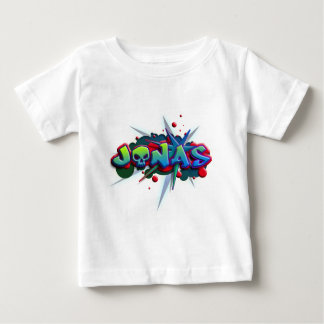 first nombre Jonas for playeras and other products