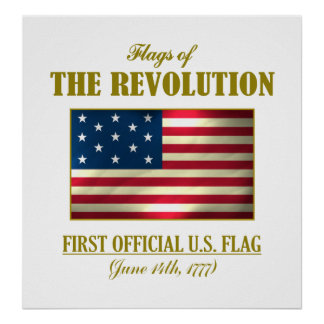 First Official U.S. Flag Poster