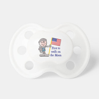FIRST ON THE MOON BooginHead PACIFIER