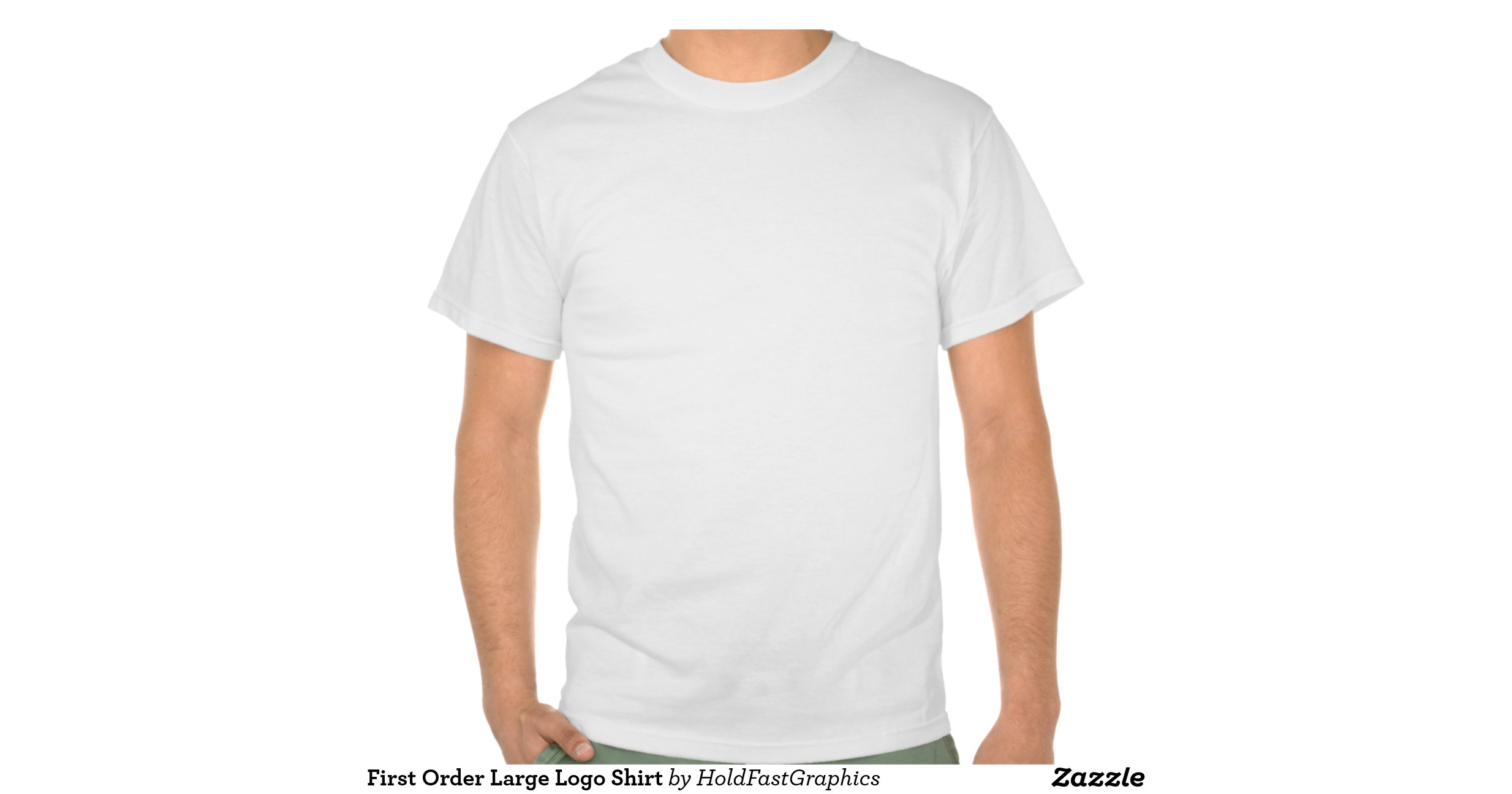 First order large logo shirt for Order shirts with logo