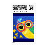 First Owl In Space Stamps