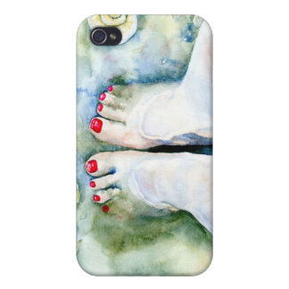 First Pedicure Cases For iPhone 4