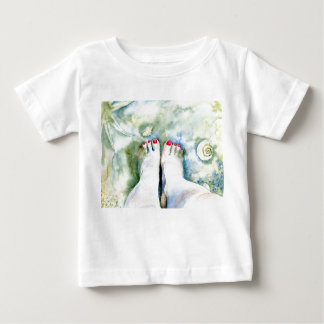 First Pedicure Infant T-shirt