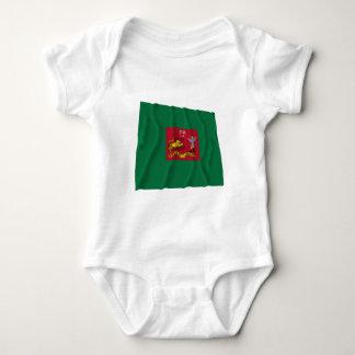 First Pennsylvania Rifles Flag Baby Bodysuit