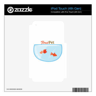 First Pet iPod Touch 4G Skins
