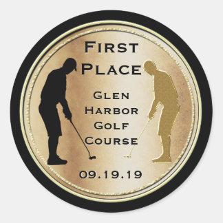 First Place Golf Sticker