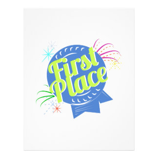 First Place Letterhead Template