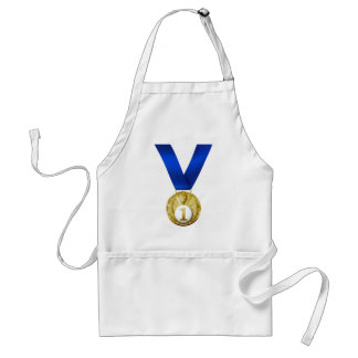 First Place Medal Adult Apron