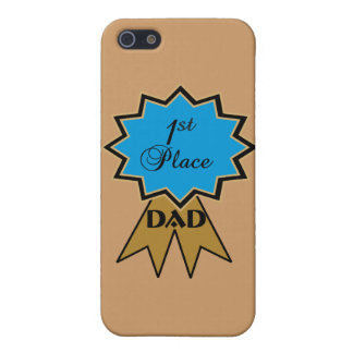 First Place Ribbon for Dad iPhone 5 Case