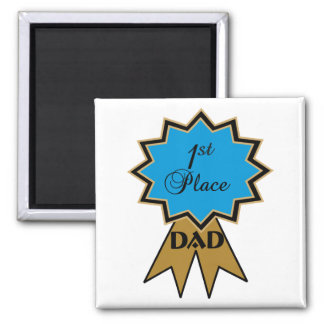 First Place Ribbon for Dad Magnet
