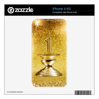 First Place Trophy iPhone 4S Decal