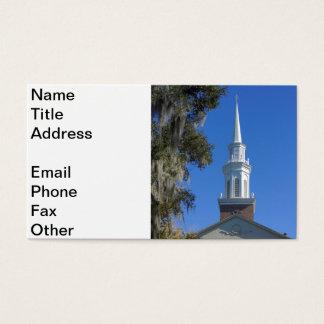 First Presbyterian Church Business Card