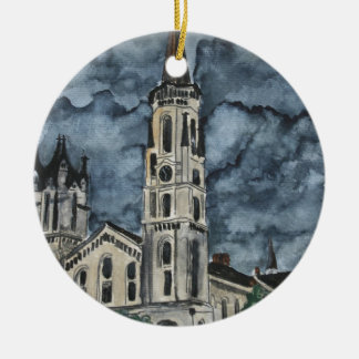 First Presbyterian Church Columbus GA Ceramic Ornament