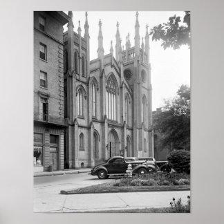 First Presbyterian Church, New Orleans, 1938 Print