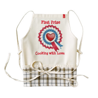 First Prize -Cooking with Love - apron