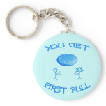 First Pull Frisbee Keychains