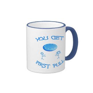 First Pull Frisbee Ringer Mug