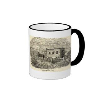 First Railway Coach Mug
