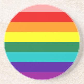 First Rainbow Gay Pride Flag Coaster
