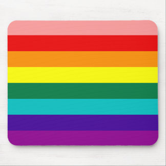 First Rainbow Gay Pride Flag Mousepad