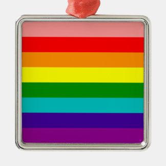 First Rainbow Gay Pride Flag Ornament