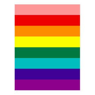 First Rainbow Gay Pride Flag Postcard