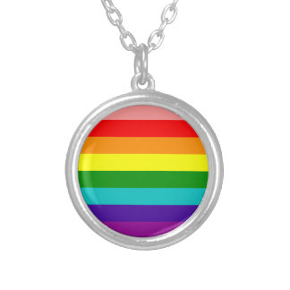 First Rainbow Pride Flag Necklace