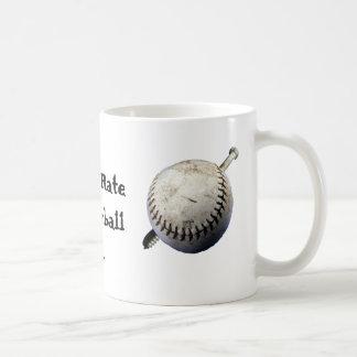 First Rate Screwball Classic White Coffee Mug