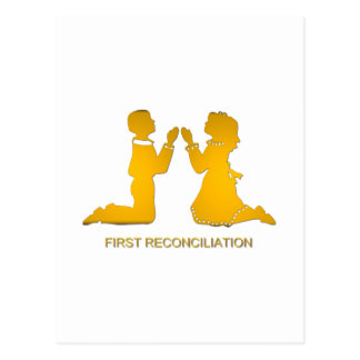 First Reconciliation Postcard