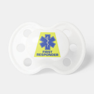 First Responder baby pacifier