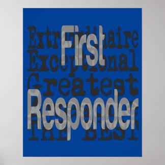 First Responder Extraordinaire Poster