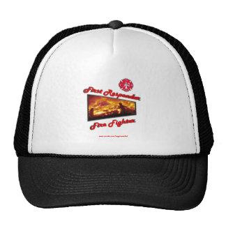 First Responder Fire Fighter Trucker Hat
