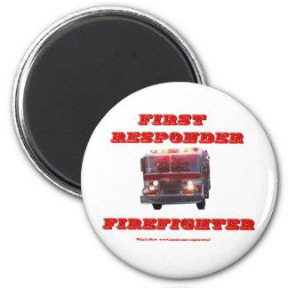 First Responder Firefighter. Magnet