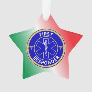 First Responder Ornament