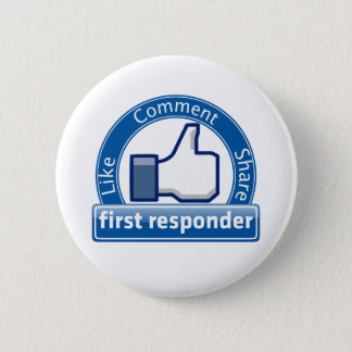 First Responder Pinback Button