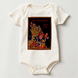 First Responders - Angels On Earth Baby Bodysuits
