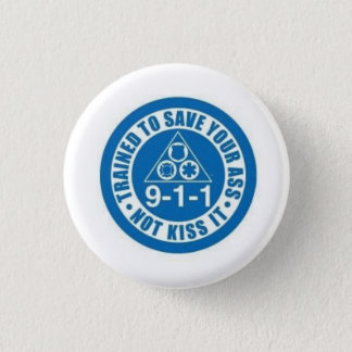 First Responders Pinback Button