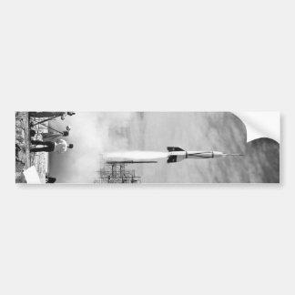 "First Rocket Launch, Cape Canaveral, ""Bumper 2"" Bumper Sticker"