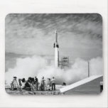 """First Rocket Launch, Cape Canaveral, """"Bumper 2"""" Mouse Pad"""