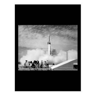 "First Rocket Launch, Cape Canaveral, ""Bumper 2"" Postcard"