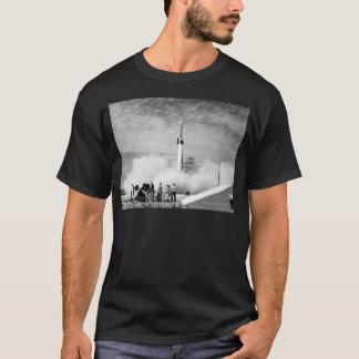 "First Rocket Launch, Cape Canaveral, ""Bumper 2"" T-Shirt"