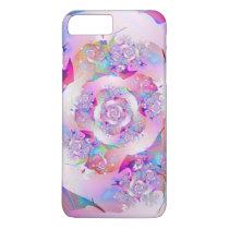 First Rose Fine Fractal Art iPhone 7 Plus Case