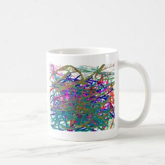 First Scrawl of Famous Digital Artist ;) Kids Art Coffee Mug