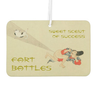 First Scroll, Ancient Japanese Fart Battles Air Freshener