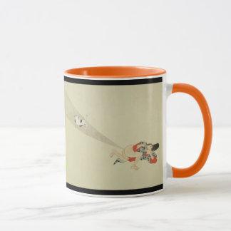 First Scroll, Ancient Japanese Fart Battles Mug